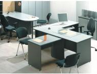 Офисные столы Стратегия серая